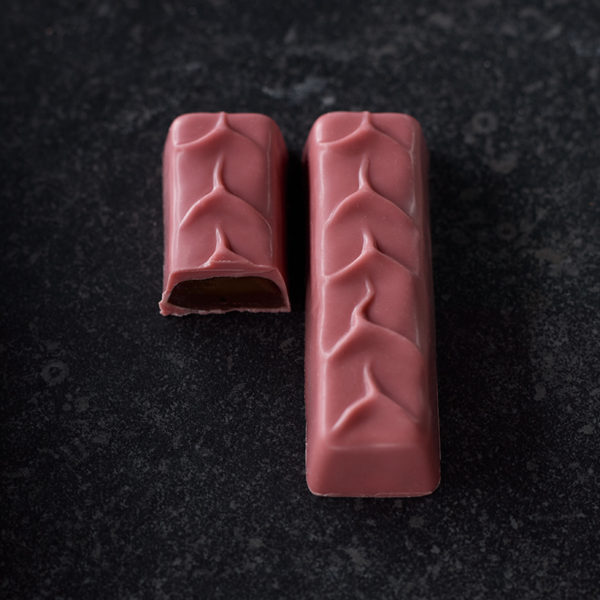 The Ruby: Muscovado caramel / rose and lychee